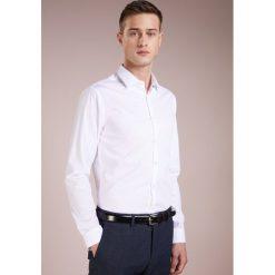 Tiger of Sweden BRODIE EXTRA SLIM FIT Koszula biznesowa pure white. Brązowe koszule męskie slim marki Tiger of Sweden, m, z wełny. Za 419,00 zł.