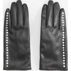 Rękawiczki z ćwiekami - Czarny. Czarne rękawiczki damskie marki Reserved. Za 69,99 zł.