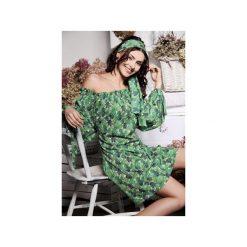 Sukienka Giovanna. Zielone sukienki na komunię Silje, w paski. Za 299,00 zł.