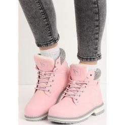Buty zimowe damskie: Różowe Traperki So Cosy
