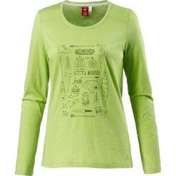 Koszulka w kolorze zielonym. Zielone t-shirty damskie OCK, z nadrukiem, z okrągłym kołnierzem. W wyprzedaży za 56,95 zł.