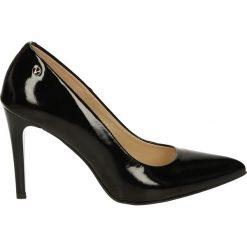 Czółenka - 3900 V NE J17. Czarne buty ślubne damskie Venezia, ze skóry. Za 199,00 zł.