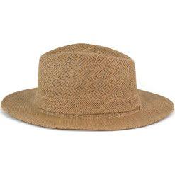 Kapelusz damski Simple brązowy (cz14104). Brązowe kapelusze damskie Art of Polo. Za 28,94 zł.