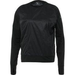Nike Performance SEASONAL RUN DIVISON  Bluzka z długim rękawem black/reflect black. Czarne bluzki sportowe damskie Nike Performance, xs, z materiału, z długim rękawem. Za 379,00 zł.