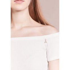 T-shirty damskie: Patrizia Pepe MAGLIA Tshirt z nadrukiem whisper natural