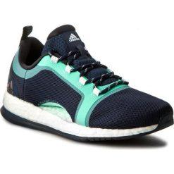 Buty adidas - Pure Boost X TR 2 BA7956 Conavy/Cblac. Czarne buty do fitnessu damskie marki Adidas, z kauczuku. W wyprzedaży za 349,00 zł.