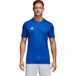 Koszulki sportowe męskie: Adidas Koszulka męska Core 18 Tee niebieska r. XL (CV3451)