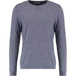 Tommy Jeans BASIC Sweter black iris. Niebieskie kardigany męskie Tommy Jeans, m, z bawełny. Za 379,00 zł.