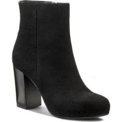 Botki GINO ROSSI - Lucy DBG728-M73-4900-9900-0 Czarny 99. Czarne buty zimowe damskie marki Gino Rossi, ze skóry. W wyprzedaży za 339,00 zł.