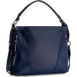 Torebka CREOLE - RBI1179 Granat. Niebieskie torebki klasyczne damskie Creole, ze skóry. W wyprzedaży za 209,00 zł.
