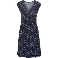 Sukienki: Sukienka w groszki bonprix ciemnoniebiesko-ecru