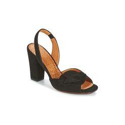 Sandały Chie Mihara  ANAMI. Czarne sandały damskie Chie Mihara. Za 967,20 zł.