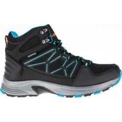 Buty trekkingowe męskie: Hi-tec Buty męskie Cerro Mid WP czarne r. 43