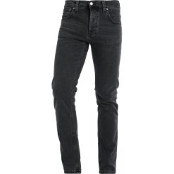 Nudie Jeans GRIM TIM Jeansy Slim Fit black seas. Czarne jeansy męskie relaxed fit Nudie Jeans. Za 539,00 zł.