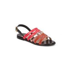 Sandały Sonia Rykiel  STRIPEY. Czerwone sandały damskie Sonia Rykiel. Za 1140,30 zł.