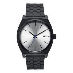 Zegarki męskie: Zegarek unisex Nixon Time Teller Black Silver A0451180
