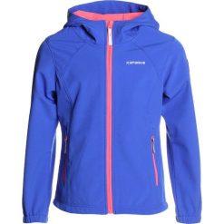 Icepeak TUUA  Kurtka Softshell royal blue. Niebieskie kurtki chłopięce przeciwdeszczowe Icepeak, z elastanu. Za 169,00 zł.