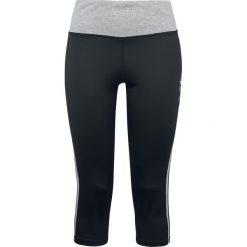 Spodnie dresowe damskie: Miasteczko Halloween Jack Spodnie dresowe melanż czarny/szary