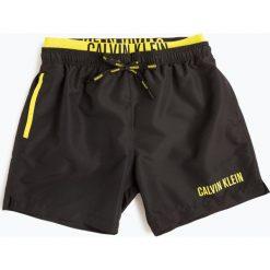 Calvin Klein - Męskie spodenki kąpielowe, czarny. Czarne kąpielówki męskie marki Calvin Klein, m. Za 229,95 zł.