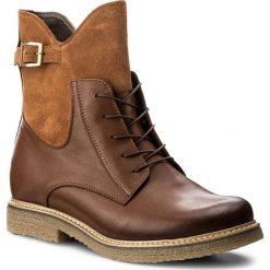 Botki SERGIO BARDI - Ercolano FW127265717JN 605. Brązowe buty zimowe damskie Sergio Bardi, ze skóry, na obcasie. W wyprzedaży za 219,00 zł.