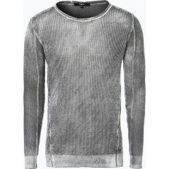 Swetry klasyczne męskie: Tigha - Sweter męski – Walton Jaquard, szary