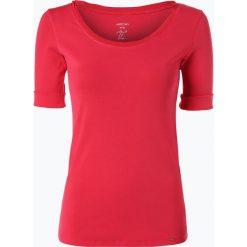 Marc Cain Collections - T-shirt damski z dodatkiem jedwabiu, różowy. Czerwone t-shirty damskie Marc Cain Collections, z jedwabiu. Za 419,95 zł.