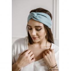 Lniana opaska do włosów, turban, DEEP BLUE. Niebieskie ozdoby do włosów marki Pakamera. Za 69,00 zł.
