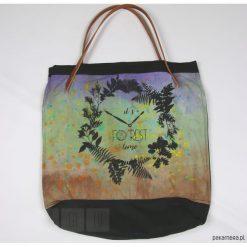 Shopper bag damskie: Torba: Forest - jasny zielony