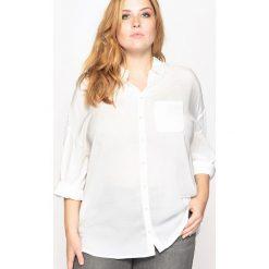 Koszule body: Koszula lejąca z podwijanymi rękawami