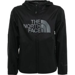 The North Face FLURRY WIND  Kurtka przeciwdeszczowa black. Czarne kurtki chłopięce przeciwdeszczowe The North Face, z materiału. Za 199,00 zł.