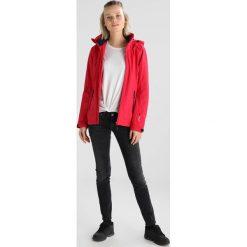 CMP WOMAN FIX HOOD JACKET Kurtka hardshell ibisco/bold blue. Czerwone kurtki sportowe damskie marki CMP, z materiału. Za 299,00 zł.