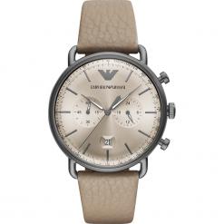 Zegarek EMPORIO ARMANI - Aviator AR11107 Gray/Gunmetal. Szare zegarki męskie Emporio Armani. Za 1590,00 zł.
