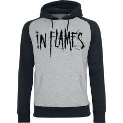 In Flames Snake Woman Bluza z kapturem szary/czarny. Czarne bejsbolówki męskie In Flames, xl, z nadrukiem, z kapturem. Za 184,90 zł.