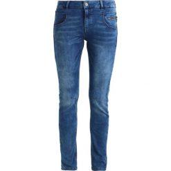 Mos Mosh NELLY SATIN JEANS Jeansy Slim Fit blue. Niebieskie rurki damskie Mos Mosh. W wyprzedaży za 389,35 zł.