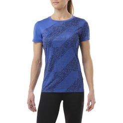 Bluzki damskie: Asics Koszulka LITE SHOW SS TOP niebieska r. XS (146628 1182)