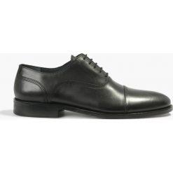 Półbuty wizytowe czarne Fausto. Czarne buty wizytowe męskie Badura. Za 263,99 zł.