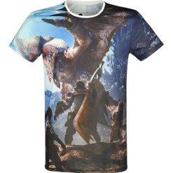 T-shirty męskie: Monster Hunter World - Hunters T-Shirt wielokolorowy