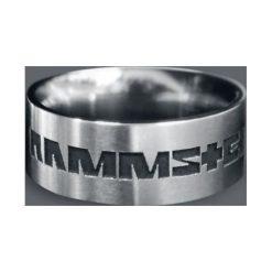 Rammstein Rammstein Pierścień srebrny. Szare sygnety męskie marki Rammstein, srebrne. Za 184,90 zł.