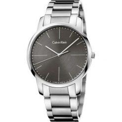 ZEGAREK CALVIN KLEIN CITY K2G2G1Z3. Szare zegarki męskie Calvin Klein, szklane. Za 899,00 zł.