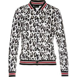 Sweter rozpinany bonprix czarno-biały leo. Białe kardigany damskie marki Reserved, l. Za 109,99 zł.