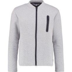Bejsbolówki męskie: Solid HAMO Bluza rozpinana light grey