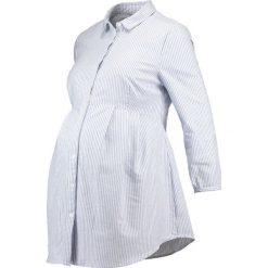 Koszule wiązane damskie: Zalando Essentials Maternity Koszula white/blue