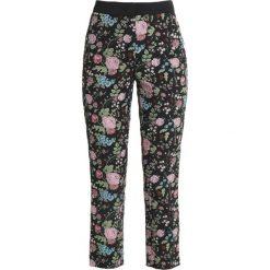 Sisley FLORAL PRINT CIGARETTE Spodnie materiałowe black. Czarne chinosy damskie marki Sisley, l. Za 399,00 zł.