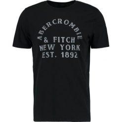 T-shirty męskie z nadrukiem: Abercrombie & Fitch LOGO SITEBUSTER Tshirt z nadrukiem black