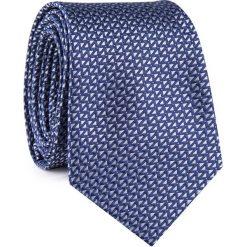 Krawat KWGR001855. Białe krawaty męskie Giacomo Conti, z mikrofibry, eleganckie. Za 69,00 zł.