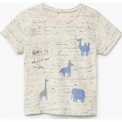 T-shirty chłopięce: Mango Kids - T-shirt dziecięcy Brujula 80-104 cm