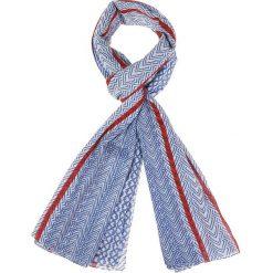 Szaliki damskie: Szal w kolorze niebieskim – 180 x 100 cm