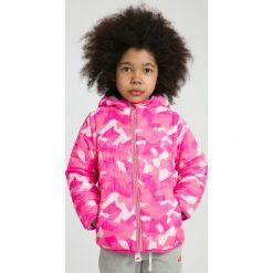 Kurtki dziewczęce: Kurtka puchowa 2w1 dla małych dziewczynek JKUDP102 – różowy