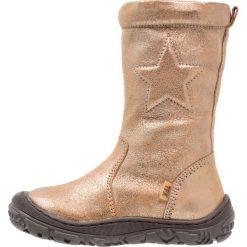 Bisgaard Śniegowce gold. Żółte buty zimowe damskie marki Bisgaard, z materiału. W wyprzedaży za 423,20 zł.