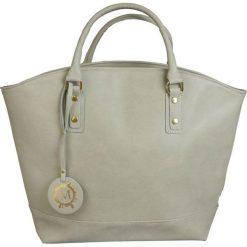 Manzana - Torebka. Brązowe torebki klasyczne damskie Manzana, z materiału, duże. W wyprzedaży za 89,90 zł.